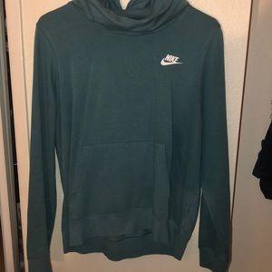 Turquoise blue nike hoodie